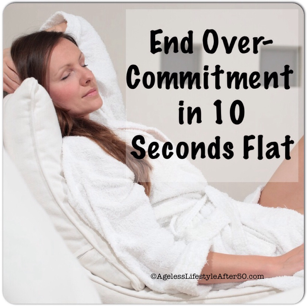 Woman Ended Over-Commitment