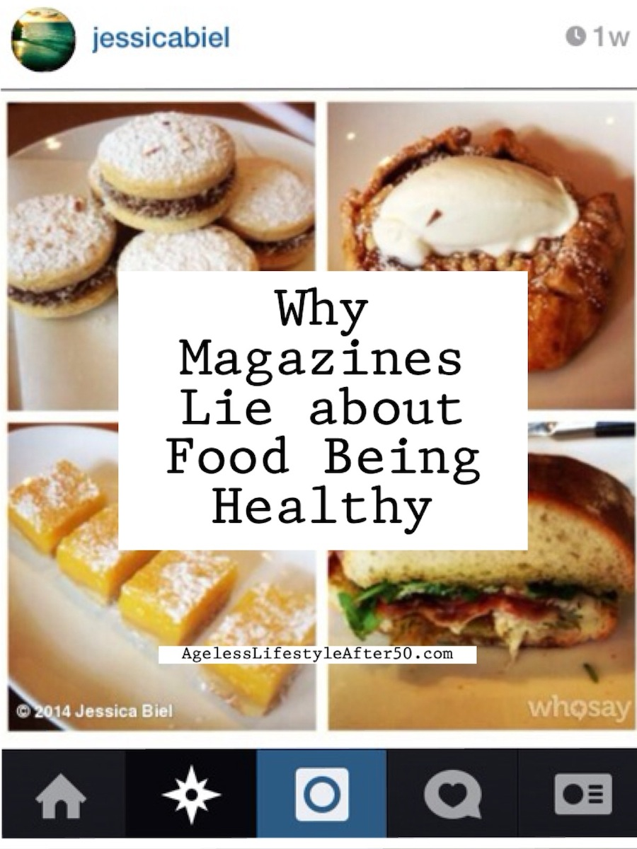 magazines lie about health