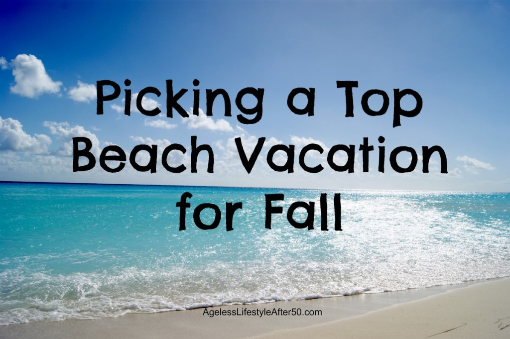 fall beach vacation