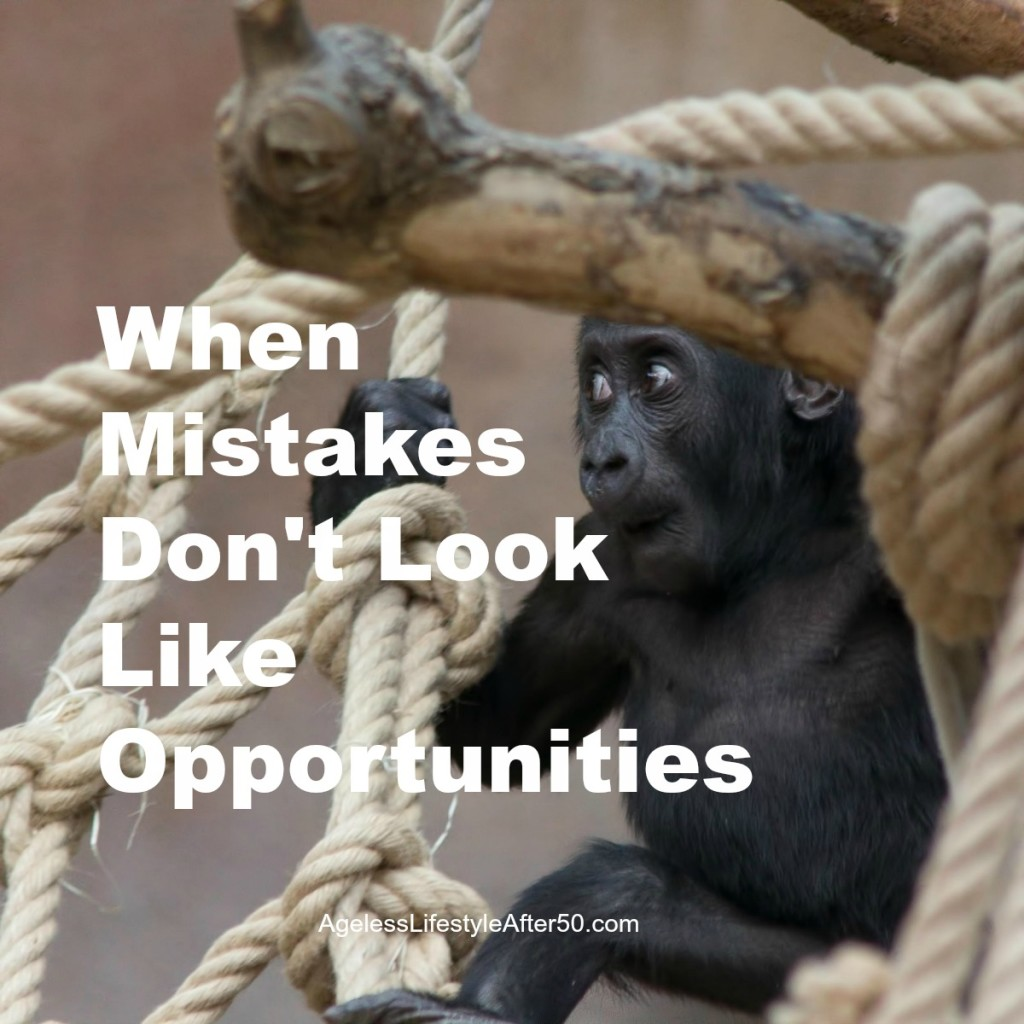 When Mistakes Don't Look Like Opportunities