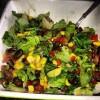 healthy vegan recipe black bean salad