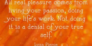 Living your passion quote image