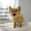 6 tips stop negative thinking