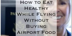 Don't buy airport food anymore