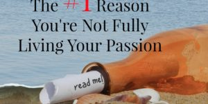 #1 Reason for Not Living Passion