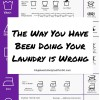 stop doing laundry wrong