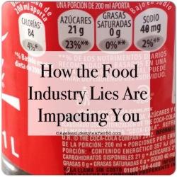 food industry lies