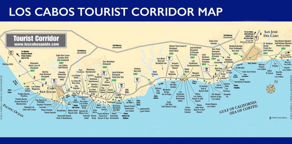 los-cabos-tourist-corridor-map