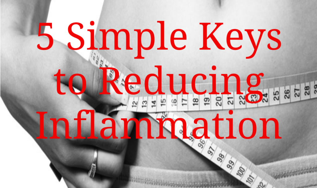 5 Simple Keys to Reducing Muscle Inflammation