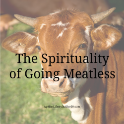 The Spirituality of Going Meatless