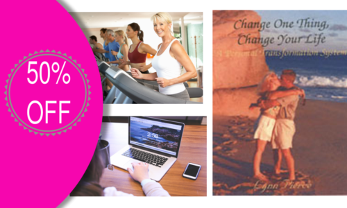 Change One Thing Change Your Life on Sale 50% Off