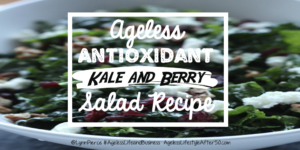 Kale and berry salad recipe