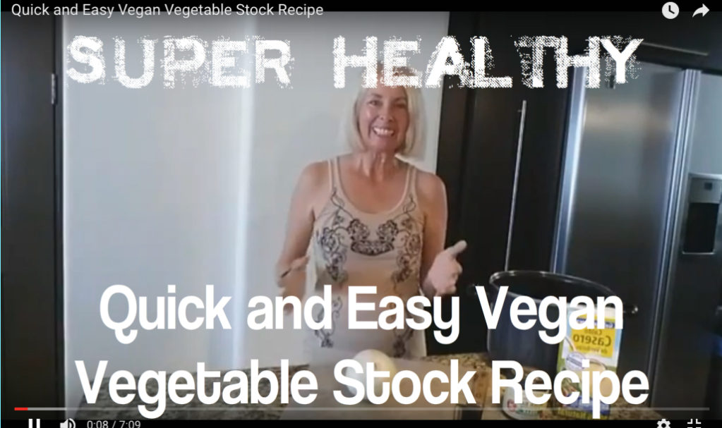 Quick and Easy Vegan Vegetable Stock Recipe