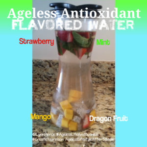 Strawberry Mango Dragon Fruit Flavored Water