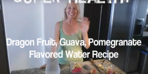 Dragon Fruit Guava Pomegranate Flavored Water Recipe