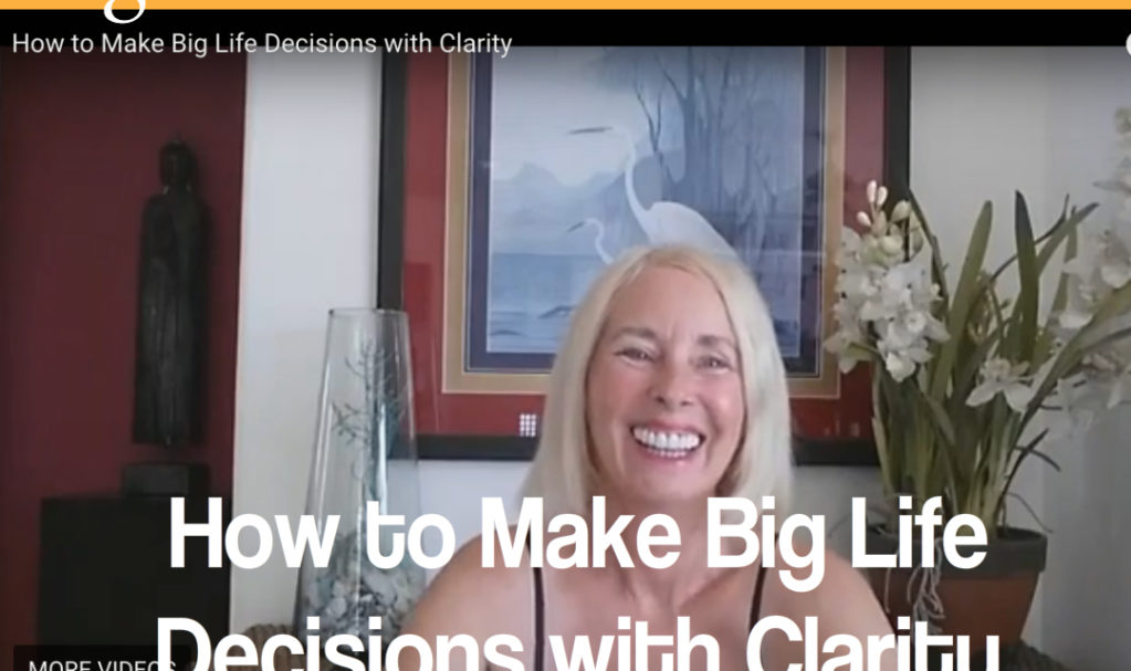 How to Make Big Life Decisions with Clarity