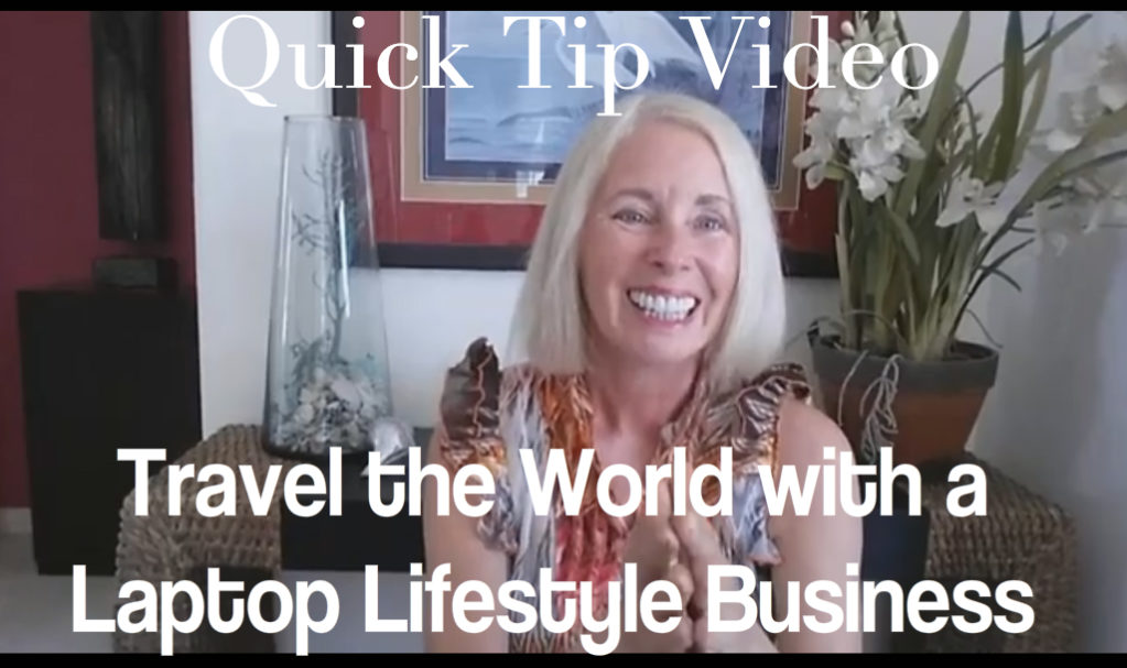 Travel the World with Your Laptop Lifestyle Business
