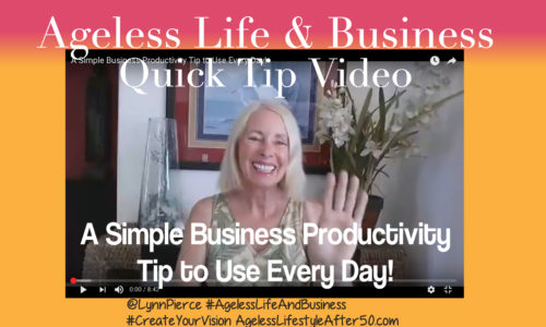 A Simple Business Productivity Tip to Use Every Day