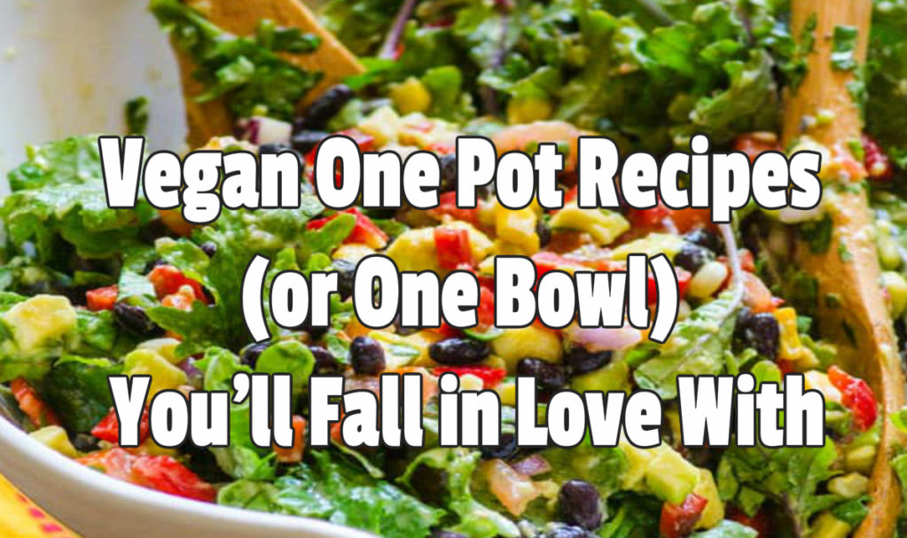 Vegan One Pot Recipes You'll Fall in Love With
