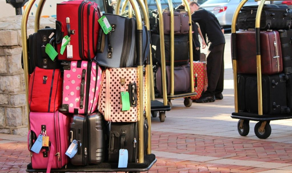 Too much checked luggage