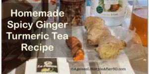 Spicy ginger turmeric tea