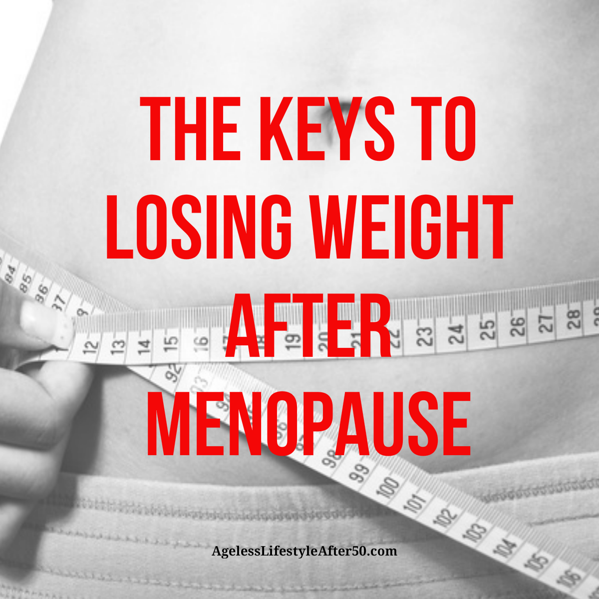 www how to lose weight after menopause