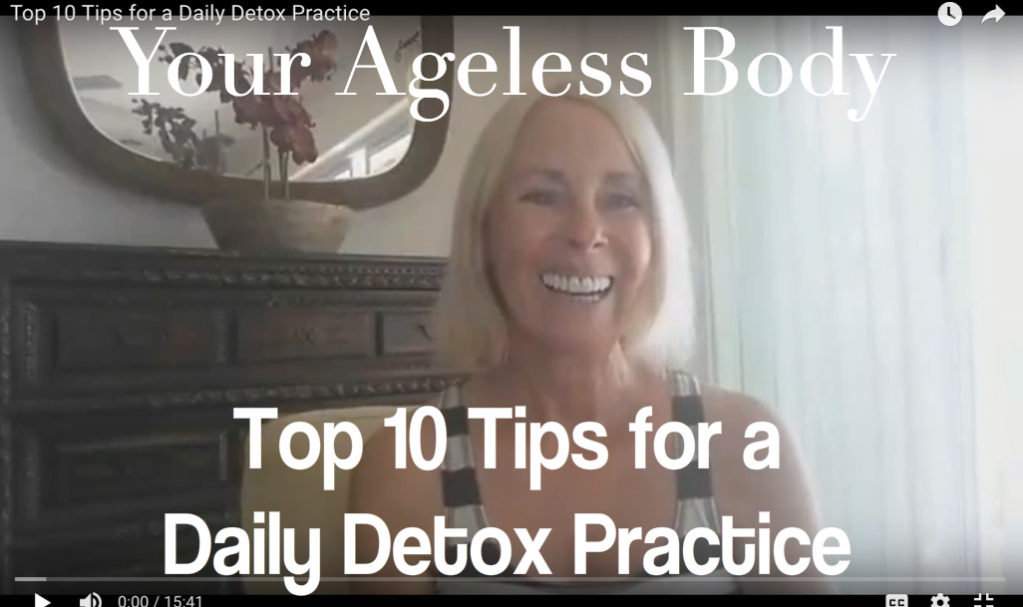 Top 10 Tips for a Daily Detox Practice