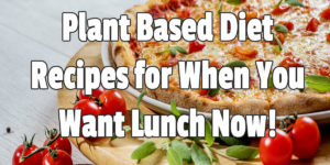 Plant Based Diet Recipes for When You Want Lunch Now